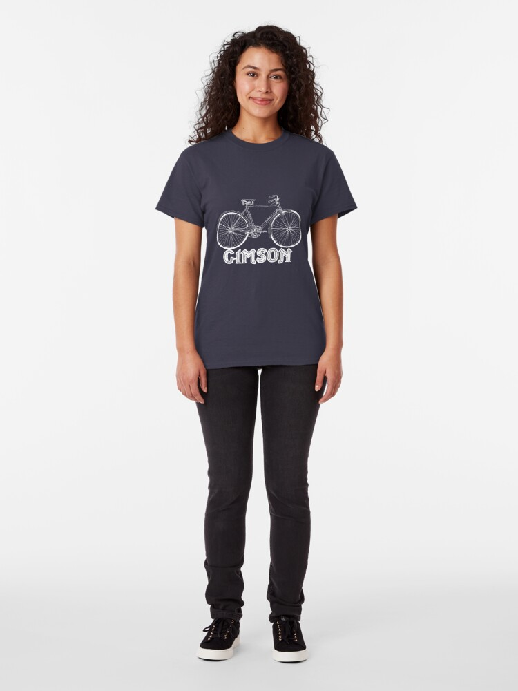 Alternate view of Gimson Bicycle Classic T-Shirt