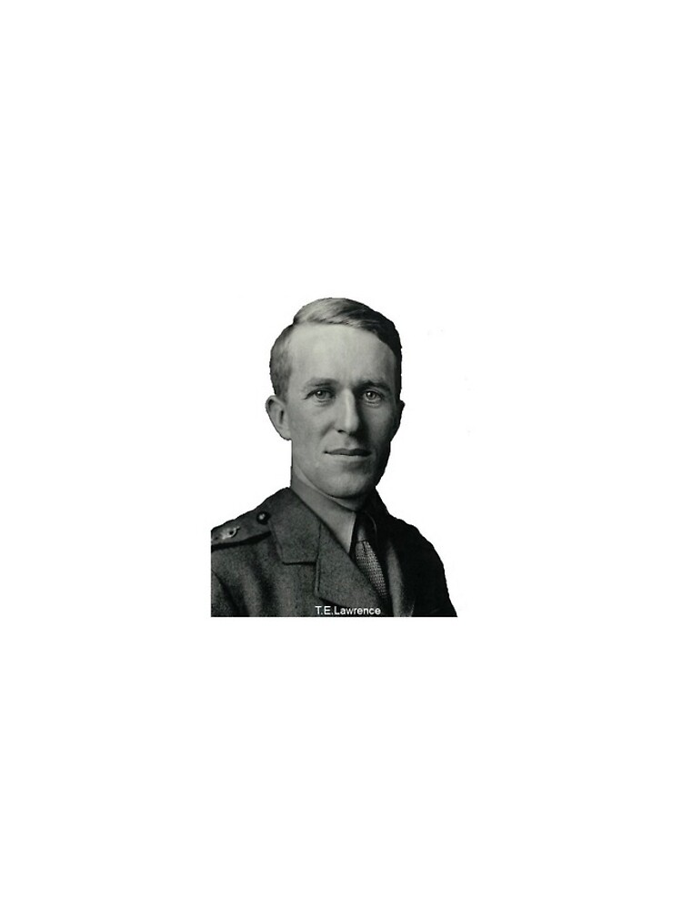 T.E.Lawrence (Lawrence of Arabia) in military uniform by dplrjl