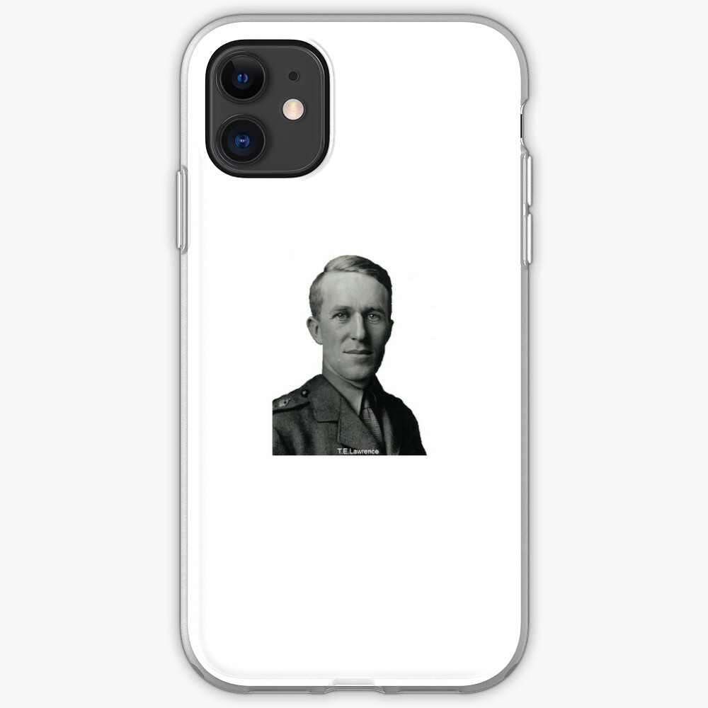 T.E.Lawrence (Lawrence of Arabia) in military uniform iPhone Case & Cover