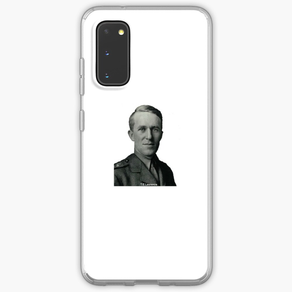 T.E.Lawrence (Lawrence of Arabia) in military uniform Case & Skin for Samsung Galaxy