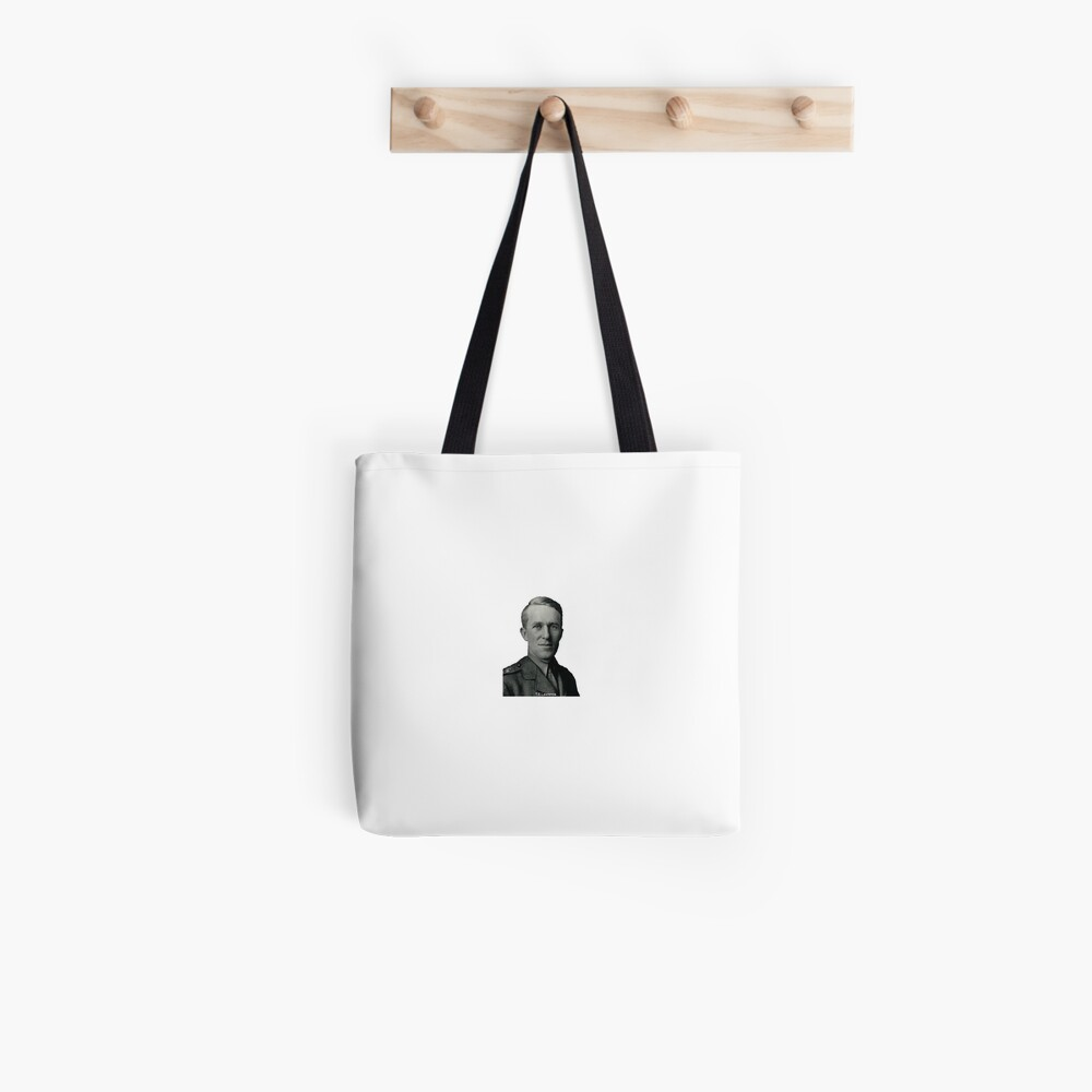 T.E.Lawrence (Lawrence of Arabia) in military uniform Tote Bag