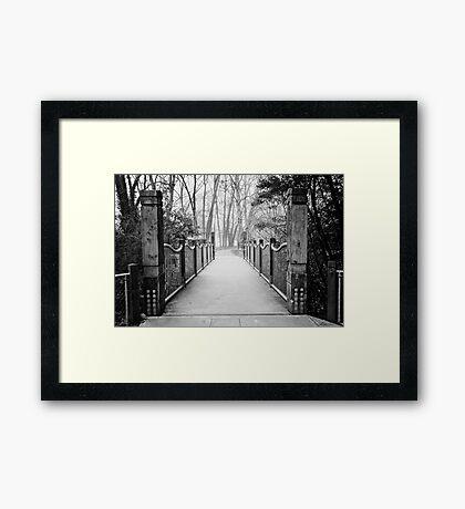 The hush of a Winter's morn Framed Print