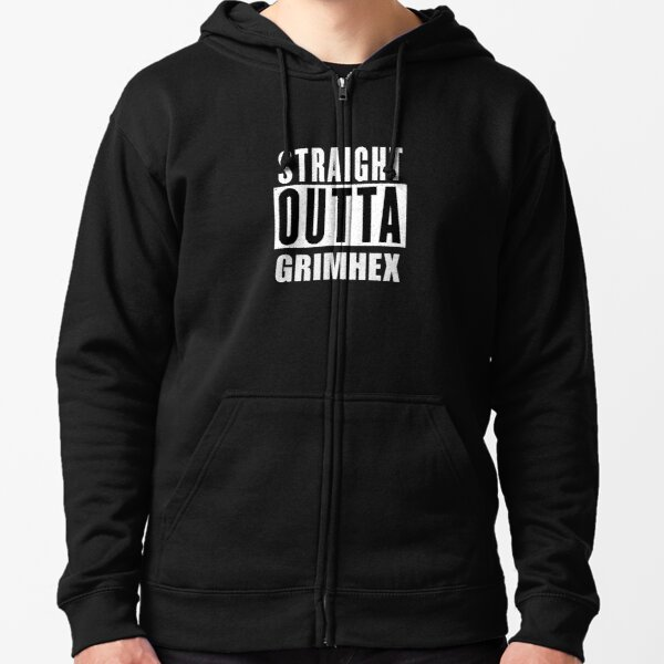Straight OUTTA GRIMHEX Zipped Hoodie