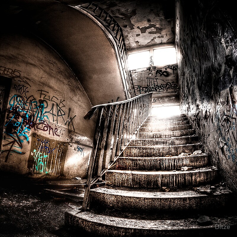 stairway to hell by Ditze