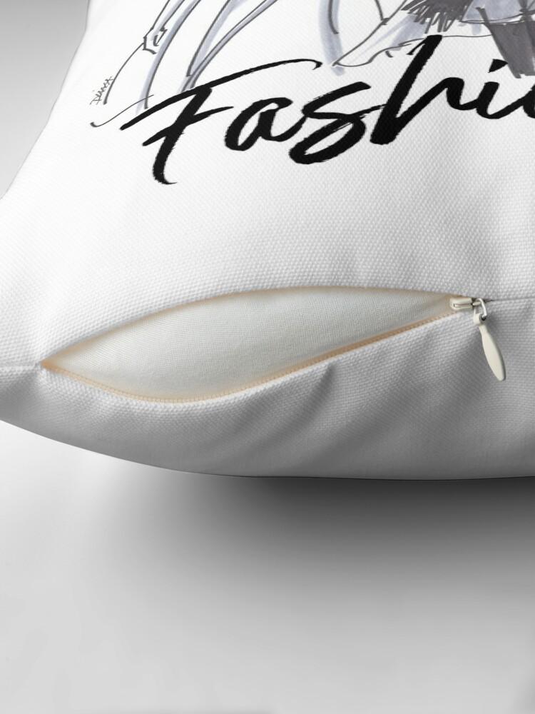 Alternate view of Sassy Fashionistas Throw Pillow