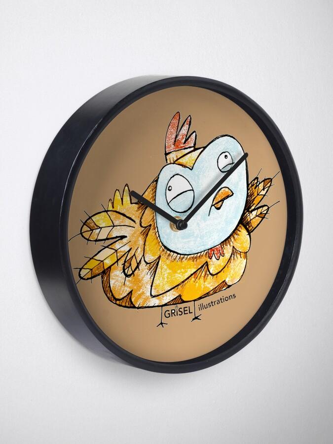Alternate view of Chock Clock