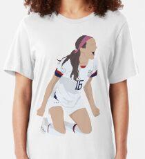 Camiseta ajustada Rose Lavelle - # 16 - USWNT - Pose de victoria de gol