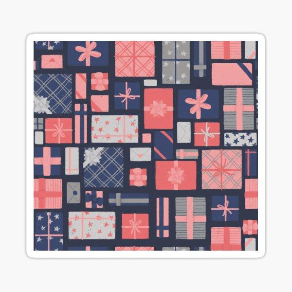 Tiny Gifts - blau // Repeat Pattern Sticker