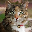 Purdy Tabby Cat by Eve Parry