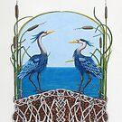 Herons Renewal by Diane Johnson-Mosley