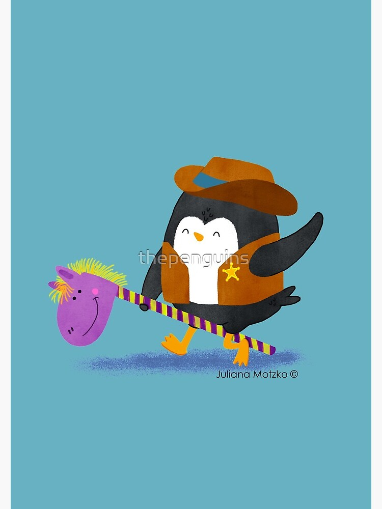 Cowboy Penguin by thepenguins