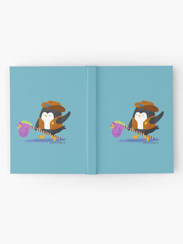 Alternate view of Cowboy Penguin Hardcover Journal