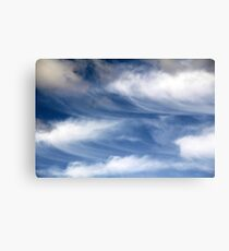 uplifting concert in the sky Canvas Print