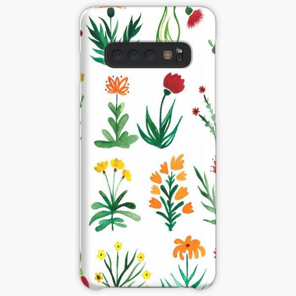 Herbarium Blumentraum Samsung Galaxy Leichte Hülle