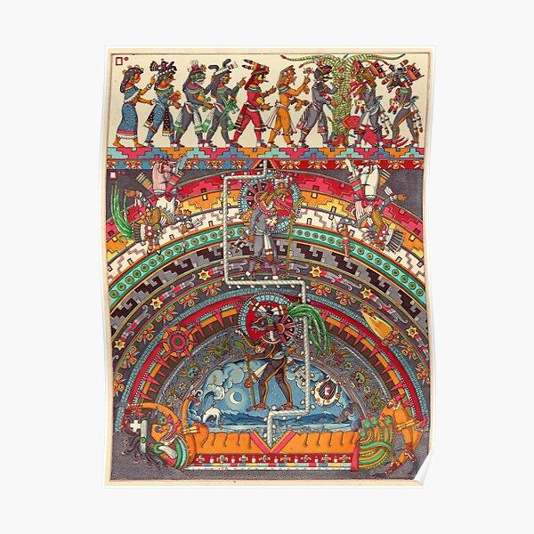 The descent of Quetzalcoatl 1 Poster