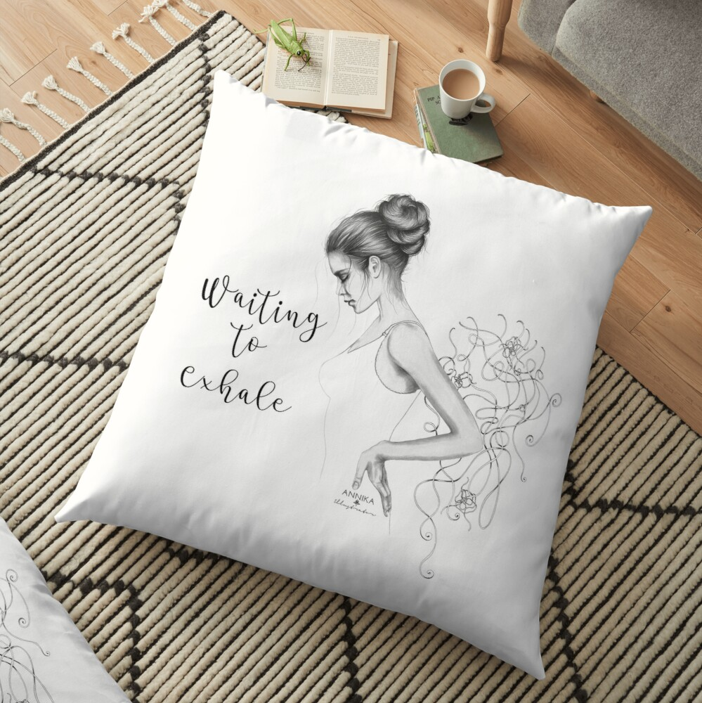Waiting to Exhale Floor Pillow