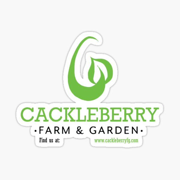 Cackleberry Farm and Garden Swag Sticker