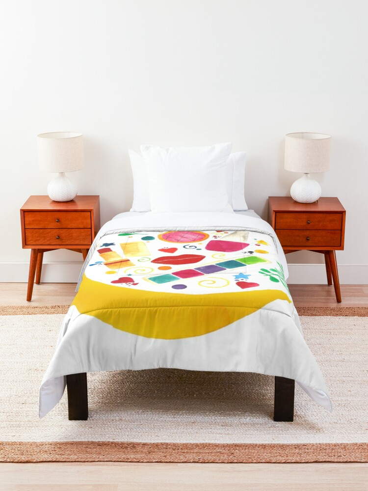 Alternate view of Makeup dreamy night Comforter