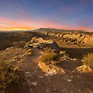 Sunset at the Ojito Anticline by Mitchell Tillison