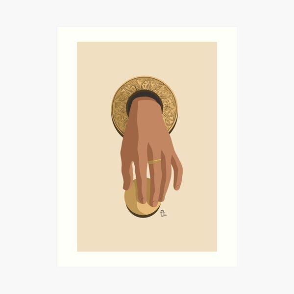 Hand of Fátima, Door Knocker Art Print
