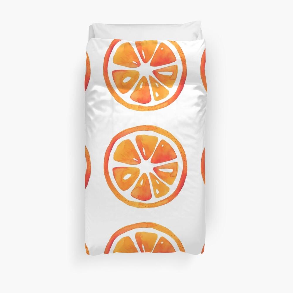Orange slice pattern Duvet Cover