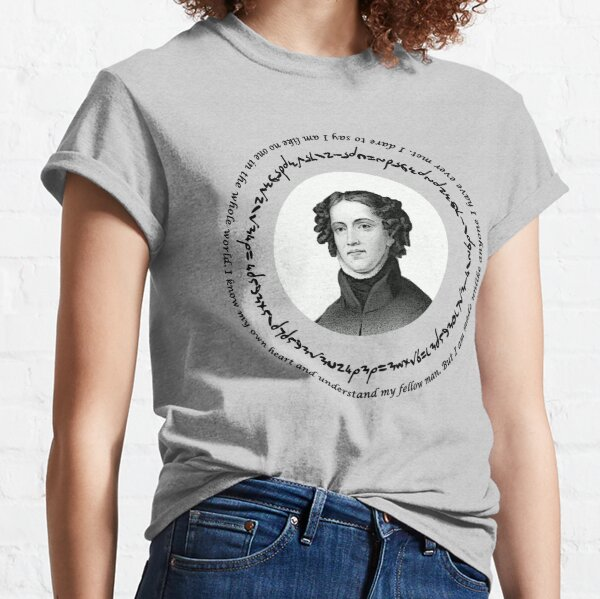 Anne Lister I know my own heart Classic T-Shirt