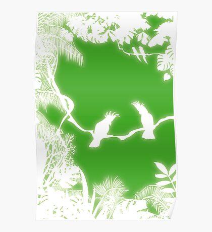 Cockatoos Poster