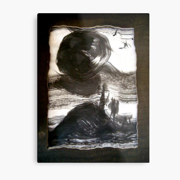 when an earth moves..... Metal Print