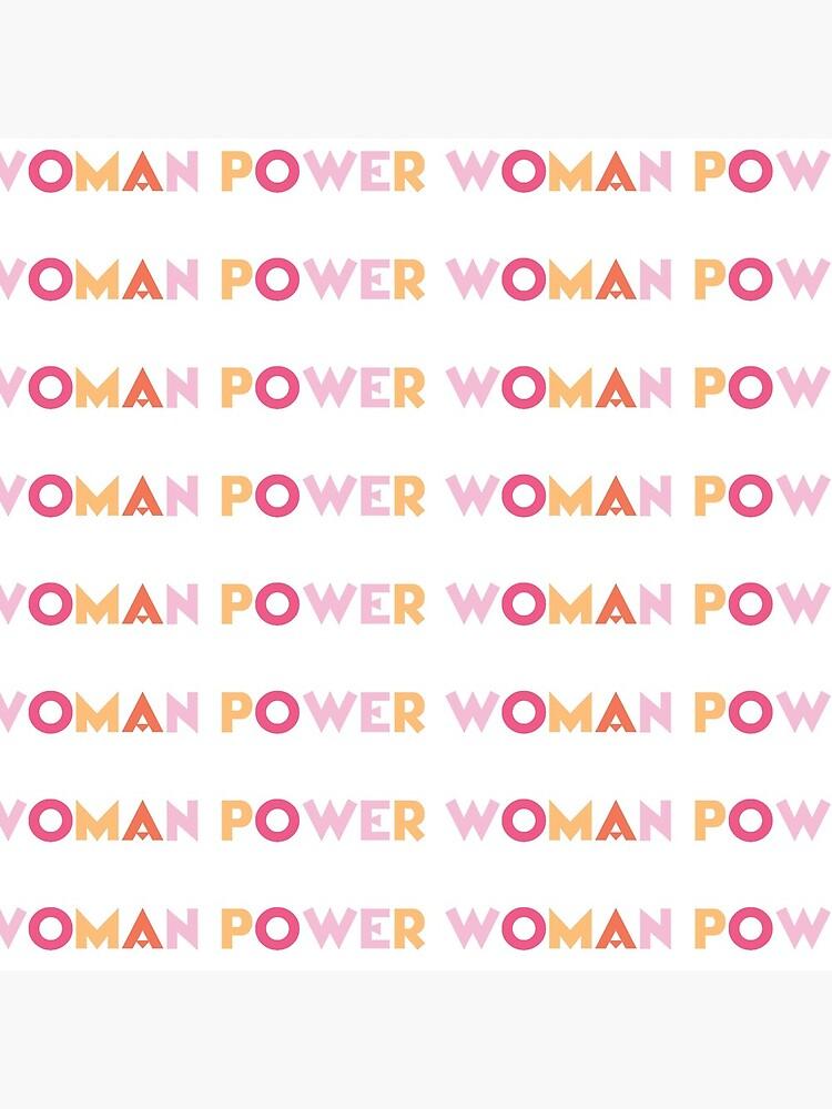Woman Power by ByAndrada