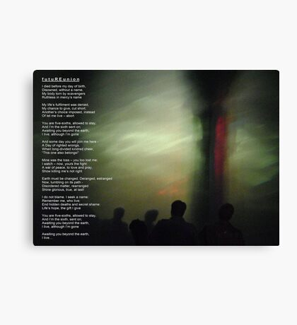 futuREunion - a song for kindred Canvas Print