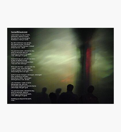 futuREunion - a song for kindred Photographic Print
