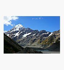 Mt Cook Summit Photographic Print