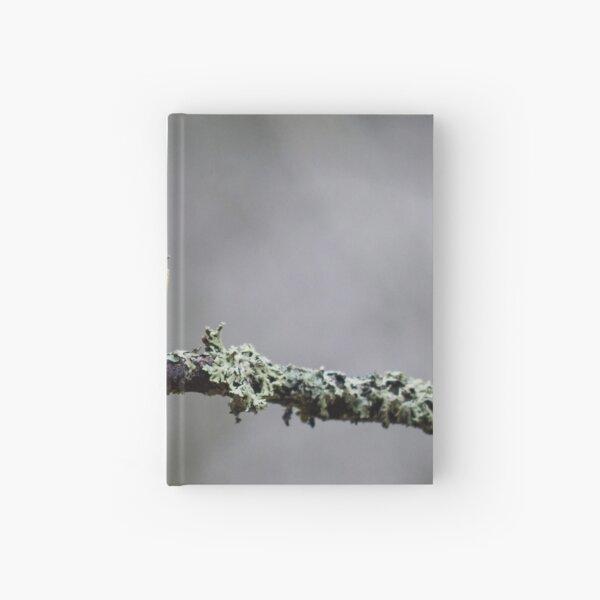 Eurasian blue tit in November II Hardcover Journal