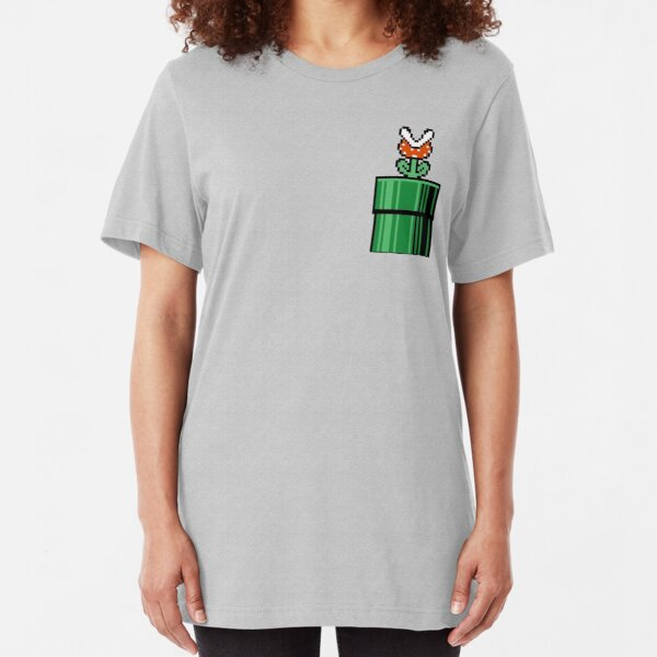 Piranha Plant Slim Fit T-Shirt