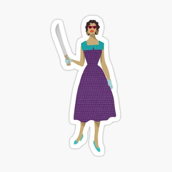 Machete Madge Sticker Party Sticker