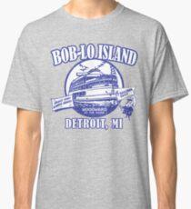 Boblo Island, Detroit MI (vintage distressed look) Classic T-Shirt