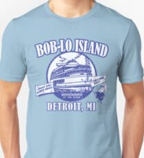 Boblo Island, Detroit MI (vintage distressed look) T-Shirt