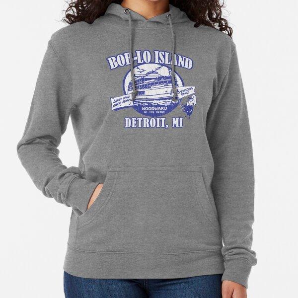Boblo Island, Detroit MI (vintage distressed look) Lightweight Hoodie