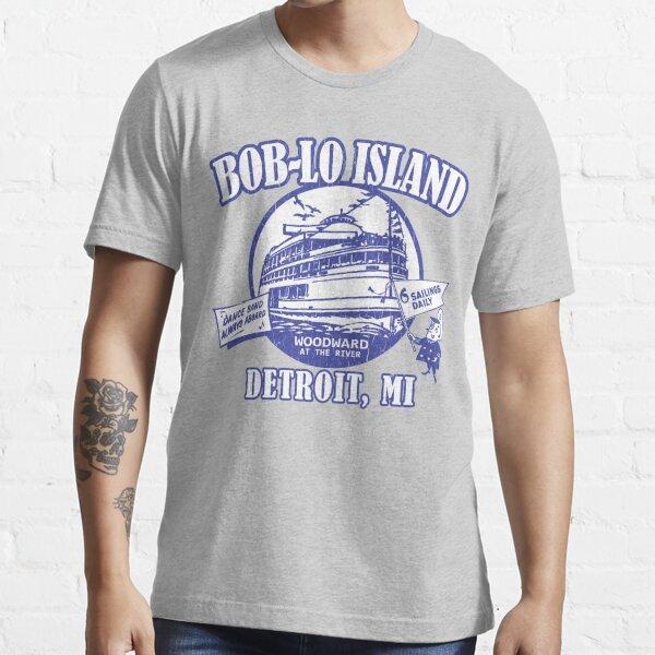 Boblo Island, Detroit MI (vintage distressed look) Essential T-Shirt