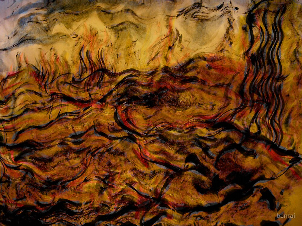 ceasing to exist.... ancient tremors, giant waves by banrai