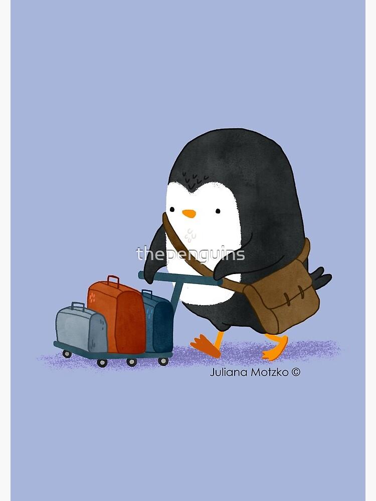 Traveller Penguin by thepenguins