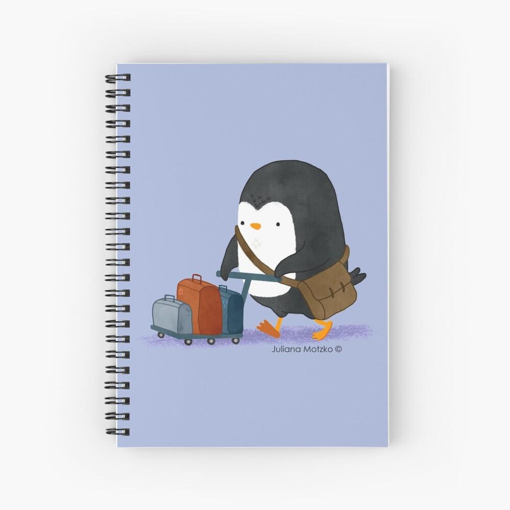 Traveller Penguin Spiral Notebook