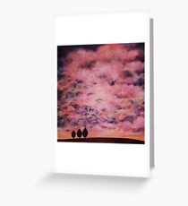 Here we stand Greeting Card