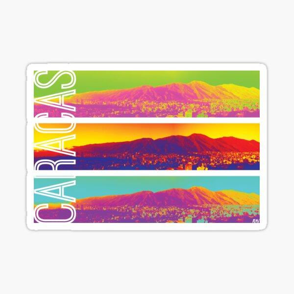 Colorful Caracas Sticker