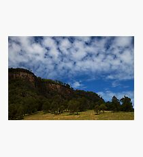 earth meets sky Photographic Print