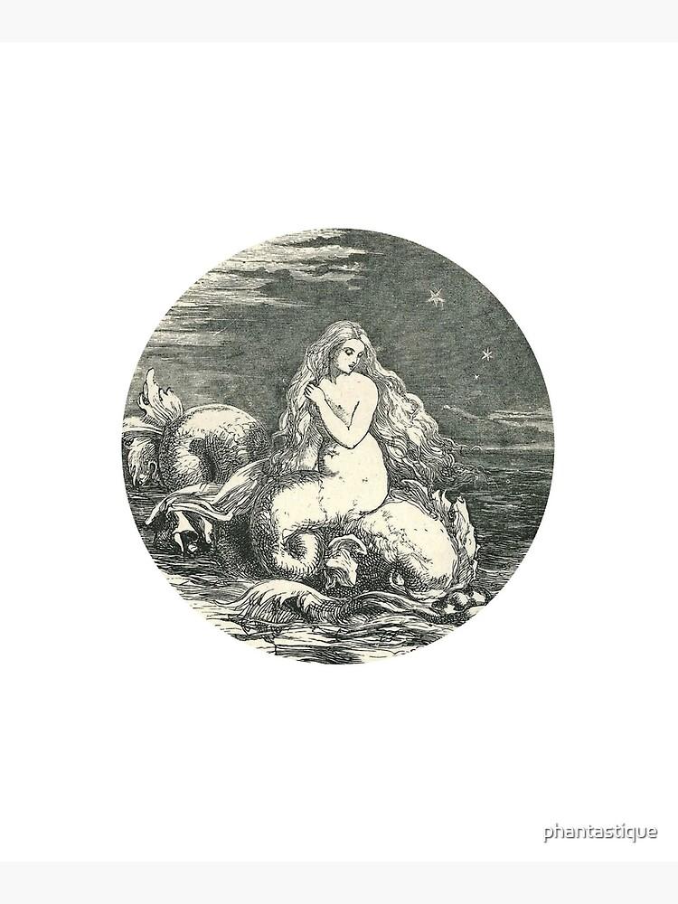 Vintage Mermaid by phantastique