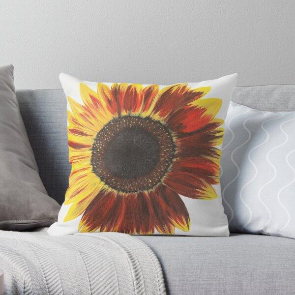 Sunflower Power #1 Throw Pillow