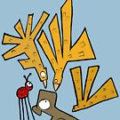 Bird Attack! by MuscularTeeth