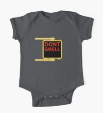 New York Crosswalk Sign Don't Smell One Piece - Short Sleeve