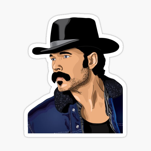 Doc Holliday Wynonna Earp Sticker